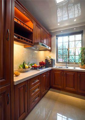 140平米三室两厅中式风格厨房设计图