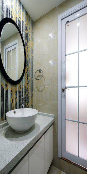 110平米三室一厅北欧风格卫生间装修案例
