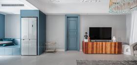 豪华型120平米三室两厅法式风格客厅欣赏图
