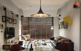 30平米超小户型北欧风格客厅设计图