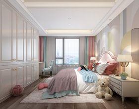 富裕型140平米别墅现代简约风格儿童房图