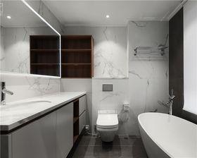 130平米三室两厅现代简约风格卫生间装修图片大全