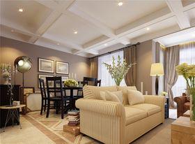 140平米别墅混搭风格餐厅沙发图