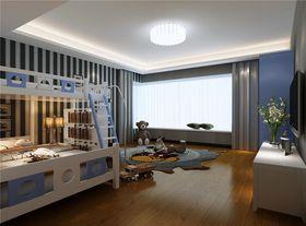 20万以上140平米别墅现代简约风格儿童房装修案例