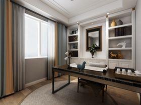 140平米四室五厅混搭风格书房设计图