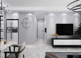 90平米三室一厅北欧风格走廊图片