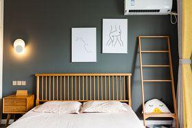 110平米北欧风格卧室装修图片大全