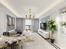100平米三美式风格客厅图片