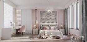 140平米別墅現代簡約風格臥室圖