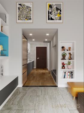 70平米复式北欧风格走廊装修效果图