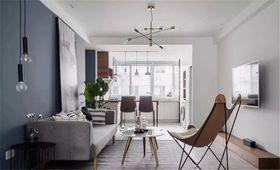 130平米三室兩廳北歐風格客廳欣賞圖