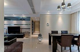豪华型140平米四室两厅现代简约风格餐厅装修案例