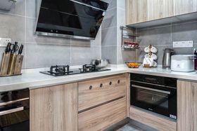 120平米四室两厅现代简约风格厨房欣赏图