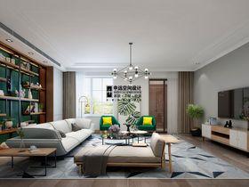 140平米复式现代简约风格客厅欣赏图