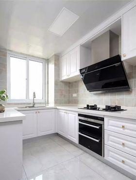 120平米三室两厅美式风格厨房装修图片大全