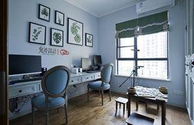 120平米三室两厅混搭风格书房装修案例