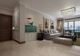 10-15万140平米三室两厅现代简约风格玄关装修效果图