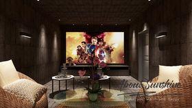 140平米别墅现代简约风格影音室效果图