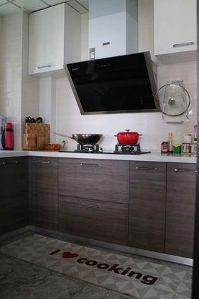 110平米三室两厅中式风格厨房装修图片大全