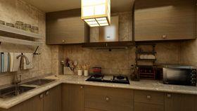 5-10万140平米混搭风格厨房图片大全
