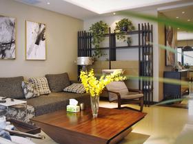 經濟型110平米三室兩廳中式風格客廳家具圖片