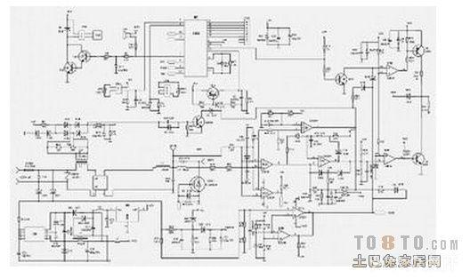 求一张美的电磁炉电路图