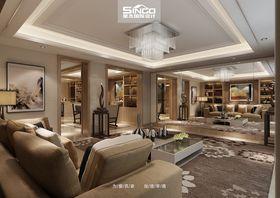 20万以上140平米别墅现代简约风格客厅图片大全