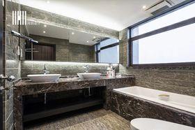 20万以上140平米四室四厅现代简约风格卫生间欣赏图