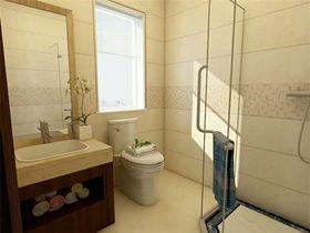 110平米三中式风格卫生间装修案例