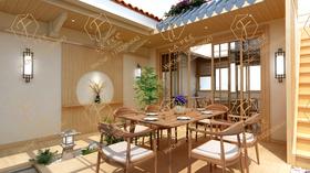 中式风格阳台图片
