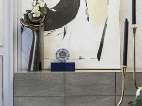 120平米三室两厅法式风格玄关设计图
