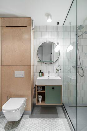 110平米现代简约风格卫生间欣赏图