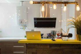 经济型80平米混搭风格厨房装修图片大全