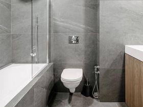 70平米三室一厅混搭风格卫生间装修效果图