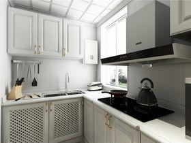 富裕型80平米三室两厅现代简约风格厨房图片