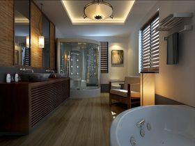 20万以上140平米四室两厅中式风格卫生间装修案例