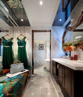 90平米三室一厅新古典风格卫生间图片