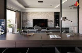 60平米公寓现代简约风格书房欣赏图
