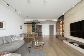 130平米三室两厅日式风格客厅效果图