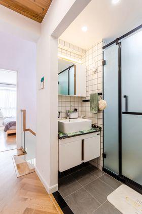 80平米日式风格卫生间装修效果图