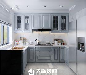 140平米三室一厅现代简约风格厨房装修图片大全