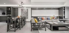 70平米一居室混搭风格客厅设计图