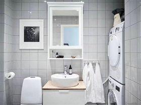 80平米现代简约风格卫生间装修案例