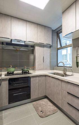 80平米三室一厅北欧风格厨房装修案例