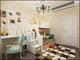 130平米三法式风格儿童房装修效果图