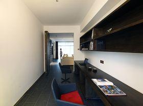 120平米三室两厅混搭风格书房效果图