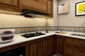 90平米三美式风格厨房图片