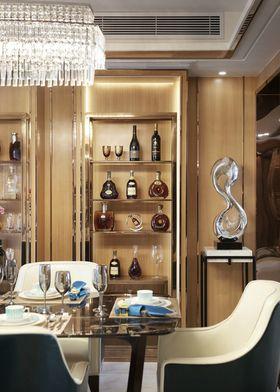 140平米三室两厅现代简约风格储藏室装修图片大全