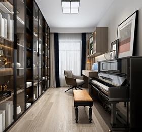 110平米三室兩廳現代簡約風格其他區域欣賞圖
