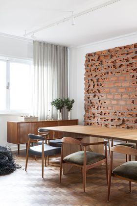 110平米三北欧风格餐厅图